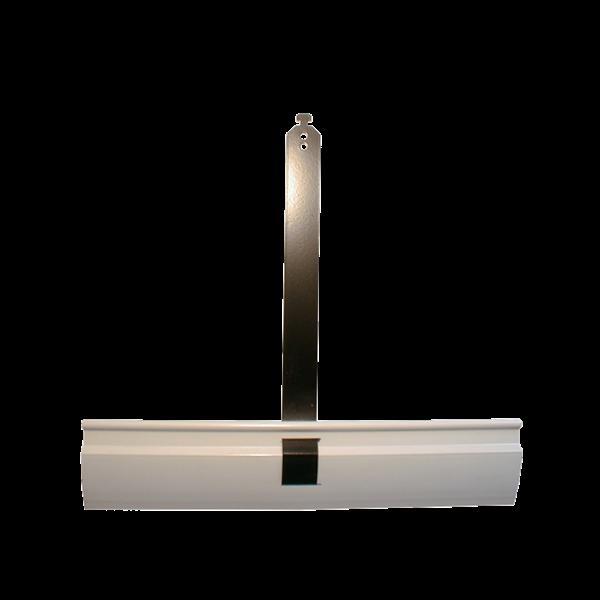 Aufhängefeder 200mm x 250mm, Nirosta mit Kunststoffprofil, besch.
