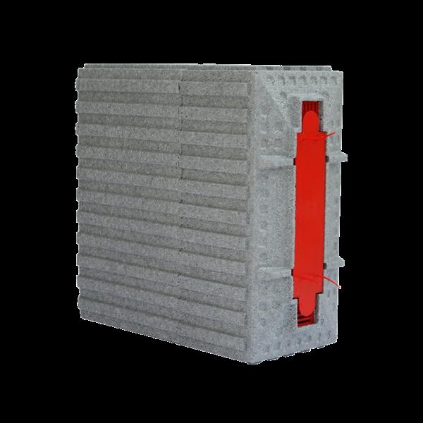 LIFO-Mauerkasten wärmgedämmt 10-12 m, LA 160 - 185 mm, Neopor
