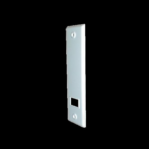 Abdeckplatte SOFTLINE 12/16 m, LA 185 mm, weiß, Kunststoff