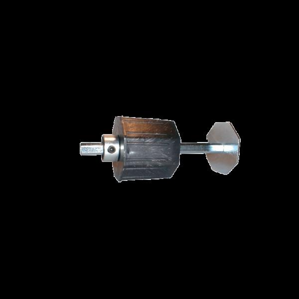 Getriebeanschluss verstellbar für 70er Achtkantwelle