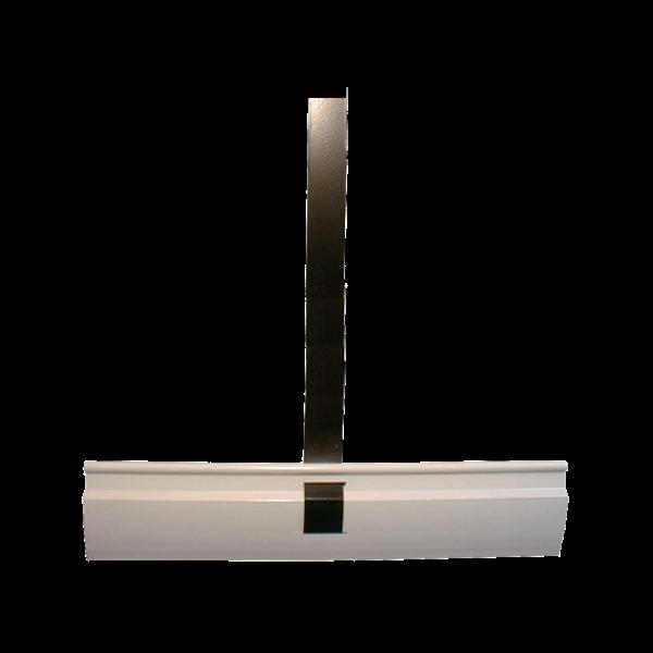 Aufhängefeder 320mm x 250mm, Nirosta mit Kunststoffprofil, besch.