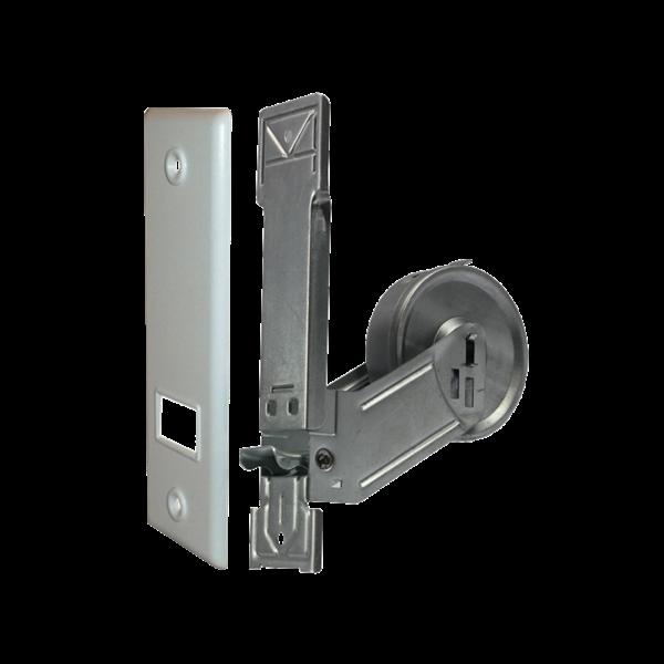 Einlass-Gurtwickler MP 5 m, LA 165 mm, mit SOFTLINE-Kunststoffabdeckplatte