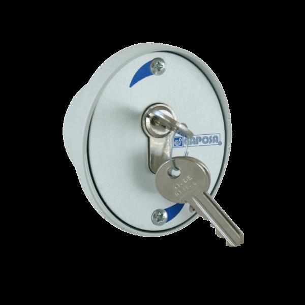 Schlüsselschalter Unterputz m. 3 Schlüssel
