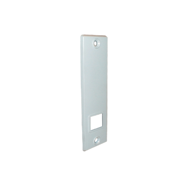 Mini-Abdeckplatte weiß