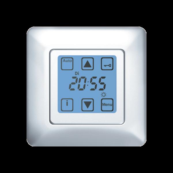 Steuerung Quattro (10 Funktionen) UP mit 1Fach Rahmen