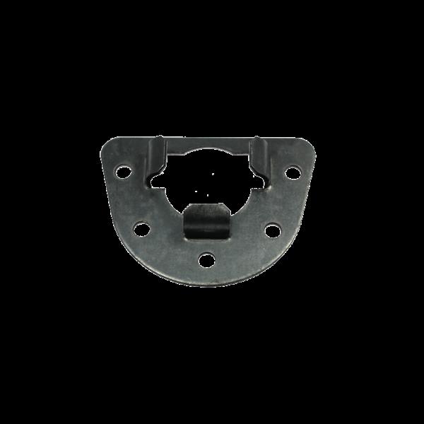 Anschraublagerschale für ø 40 mm Kugellager (verzinkt)