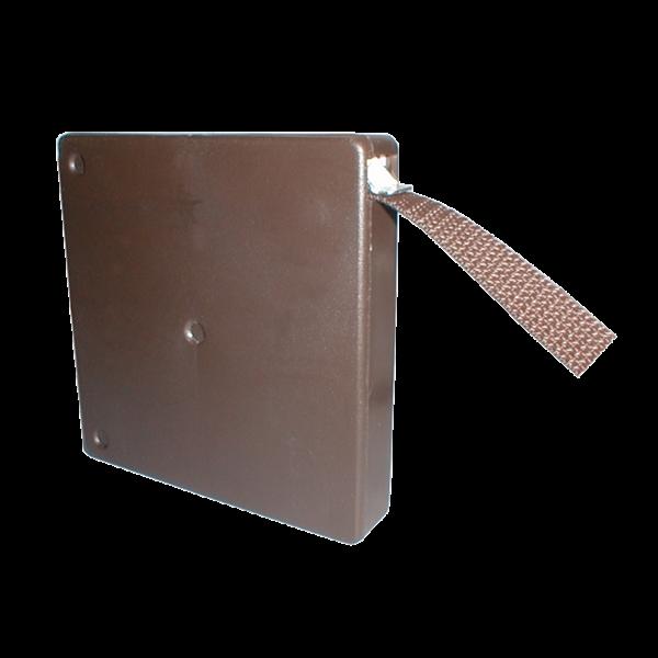 Mini-Aufschraubwickler schmal 5 m Band braun