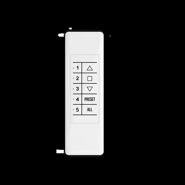 Handsender QCTX02Y 5-Kanal - 868 MHz - mit Magnethalterung