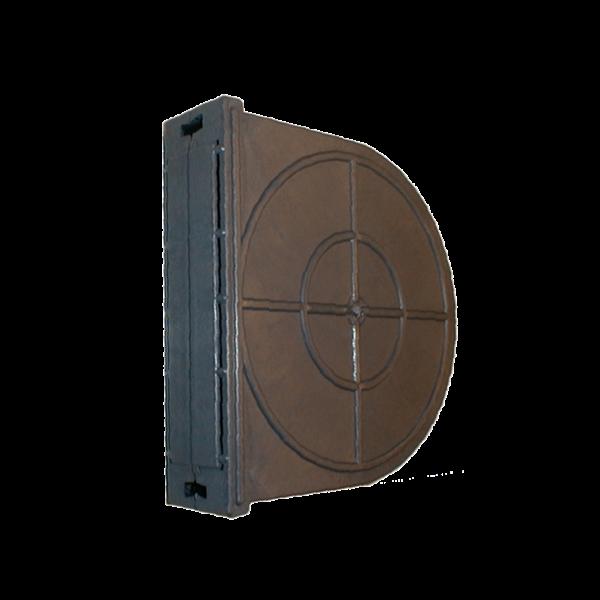 Mauerkasten 5/8 m, LA 165 mm, Kunststoff