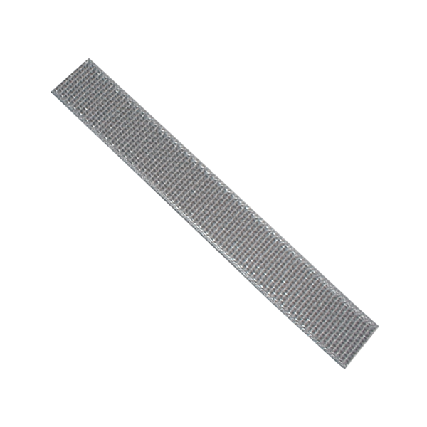 Getriebegurt 23 mm, gerollt 50 m, silbergrau