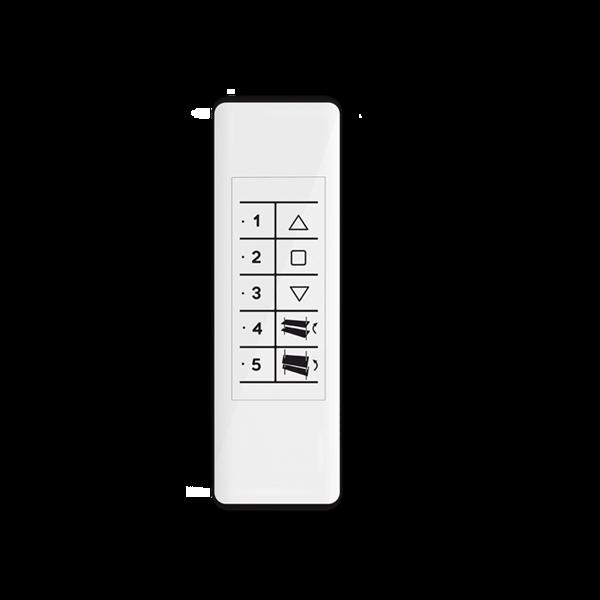 Handsender QCTX04Y 5-Kanal für Raffstore - 868 MHz - mit Magnethalterung