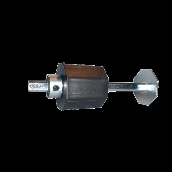 Getriebeanschluss verstellbar für 60er Achtkantwelle