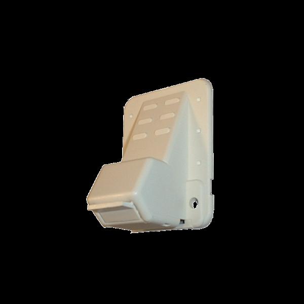 Gurtführung 35 mm mit Rand, Bürste, Leitrolle und Putzabdeckung