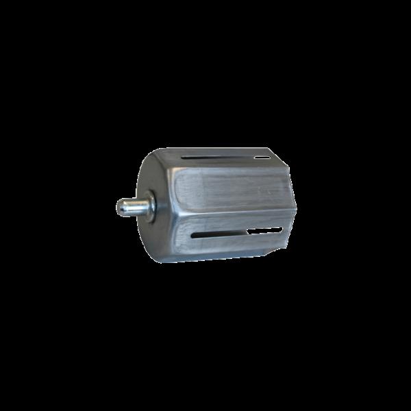 Walzenkappe verstellb. 85 mm mit Außenstift, 70 achtkant, verzinkt