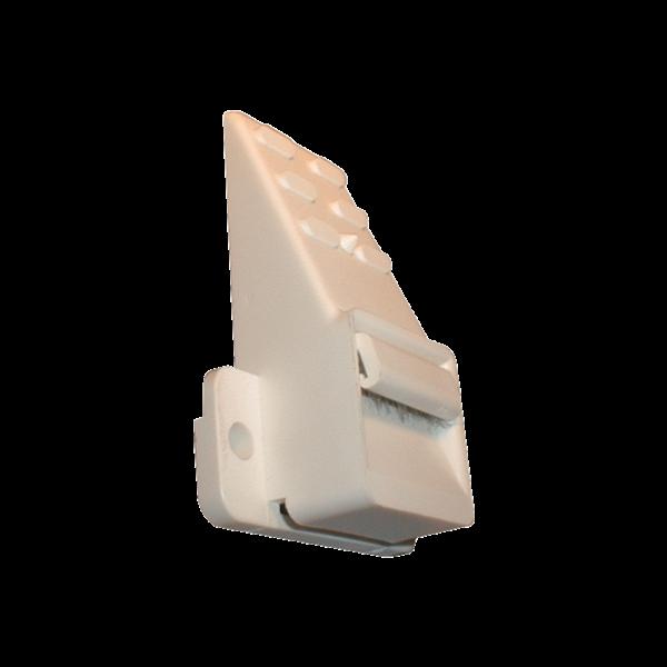 Gurtführung 23 mm ohne Rand mit Bürste