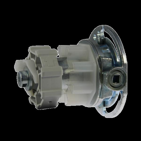 Maxi-Kegelradgetriebe R/L Untersetzung 2,6:1 f. 60er 8-kant Welle max. 20 kg