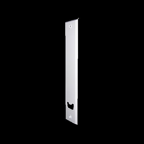 Abdeckplatte 12/16 m, LA 257 mm, weiß, Kunststoff