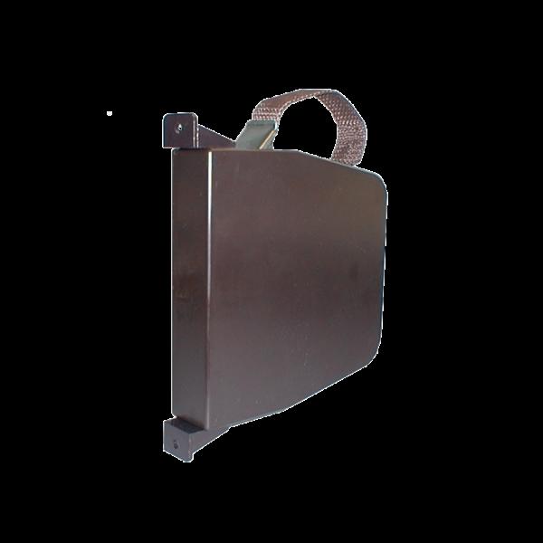 Maxi-Aufschraubschwenkwickler braun mit 6 m Gurt braun, LA 170 mm