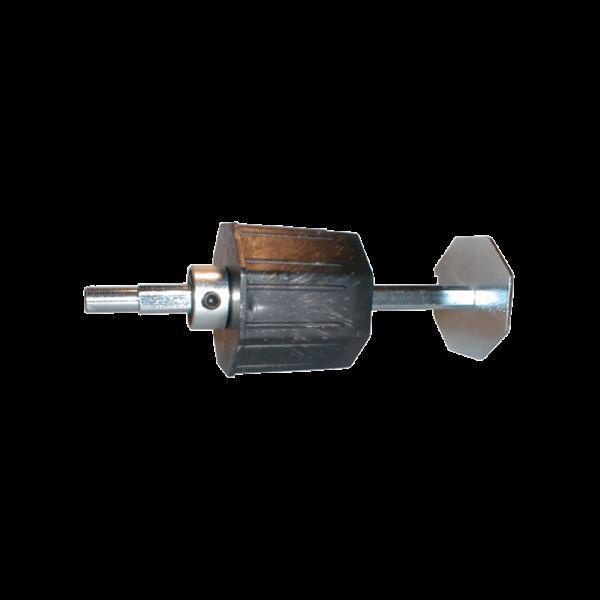 Walzenkappe verstellbar 200 mm, 70 achtkant