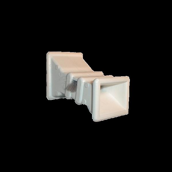 Gurtführungshälse L 50 mm mit Bürste, gerade