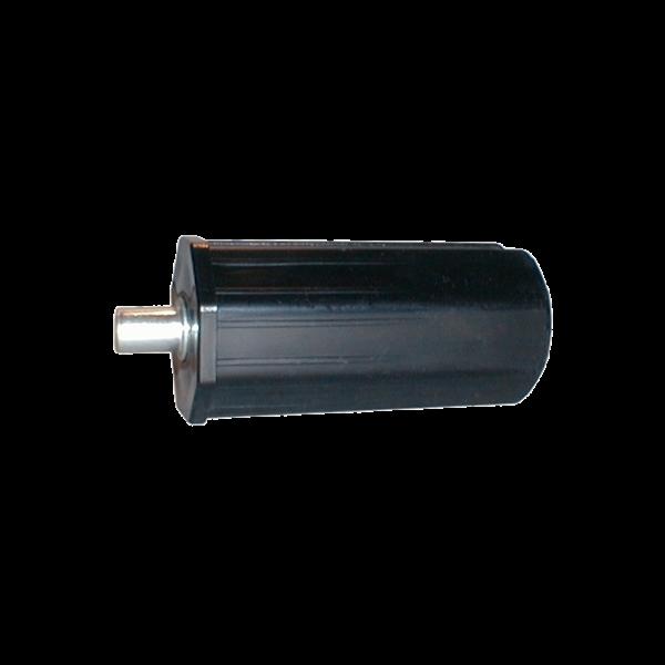 Mini-Walzenkappe 80 mm mit Außenstift Ø 12 mm, Kunststoff