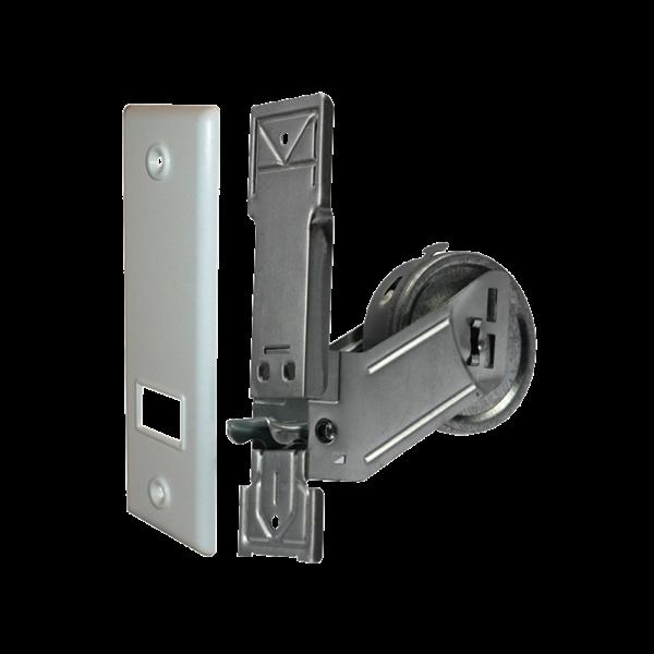 Einlass-Gurtwickler MP 3 m, LA 135 mm, mit SOFTLINE-Kunststoffabdeckplatte