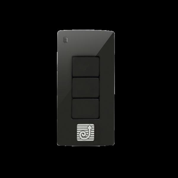 Handsender QCTIR schwarz für Rolltore 433,92 MHz