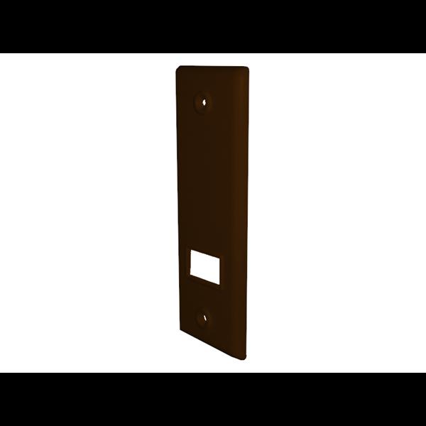 Abdeckplatte SOFTLINE 3/3-5 m, LA 135 mm, braun, Kunststoff