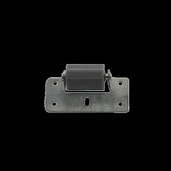 Abdruckrolle ø 27 mm auf Platte 40 mm x 95 mm (verzinkt)