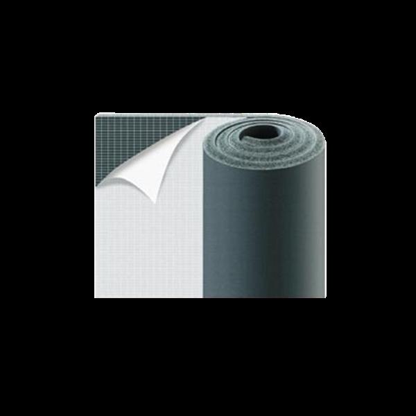 Elastomer-Dämmplatte 19 mm, 1-seitig selbstkleb. 1000mm x 6000mm