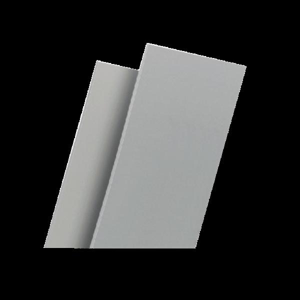 Hartschaum-Platte 8 mm weiß matt/matt 3,05 m x 1,22 m