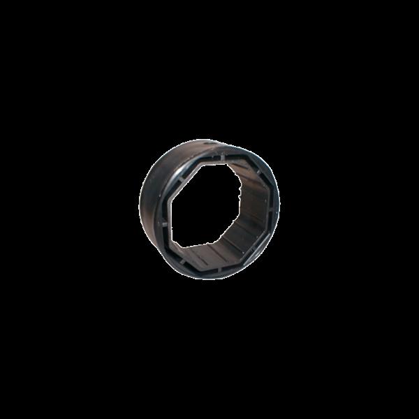 Aufrundungsring 80 mm ø für 60 mm ø Achtkantwelle
