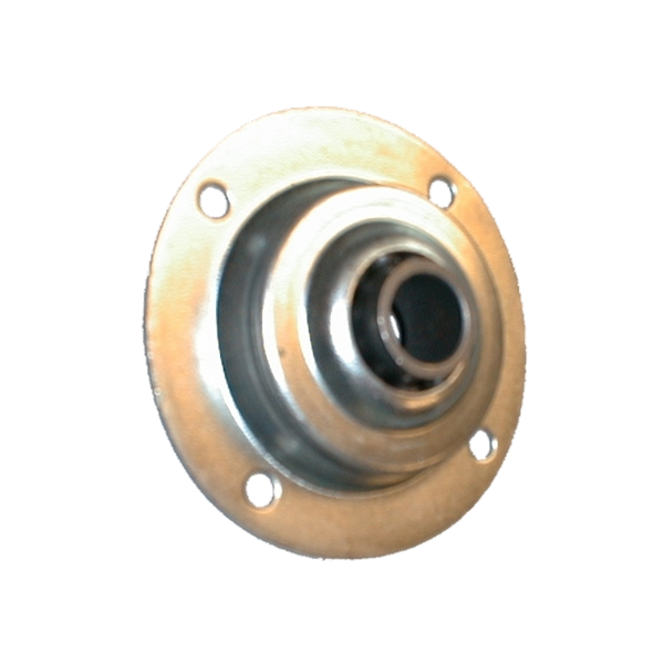Anschraubkugellager ø 70 mm, verzinkt, 10er Bohrung, Metallkern