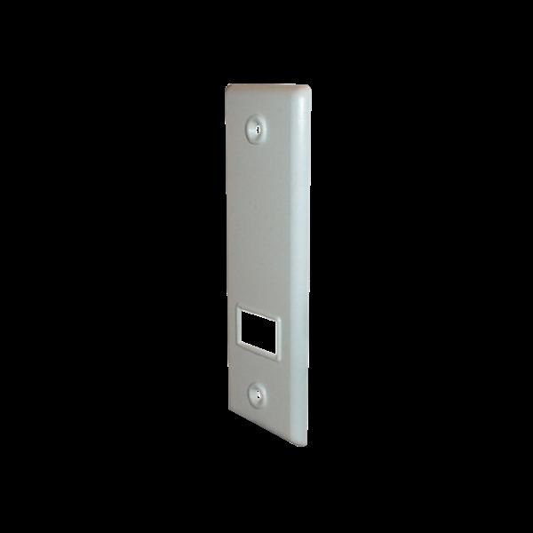 Abdeckplatte SOFTLINE 5/8/10-12 m, LA 165 mm, weiß, Kunststoff