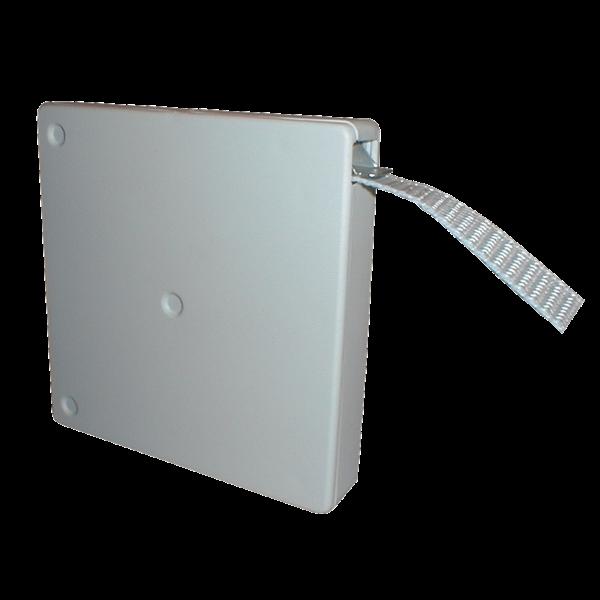 Mini-Aufschraubwickler schmal 5 m Band weiss