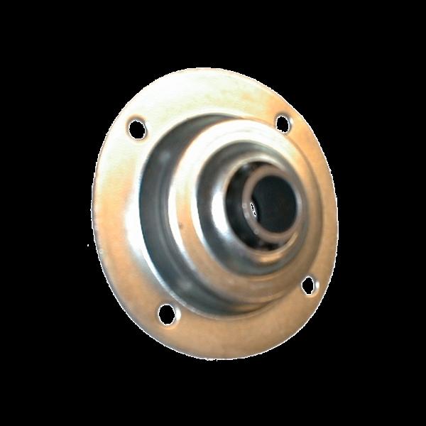 Anschraubkugellager ø 70 mm, verzinkt, 13er Bohrung, Metallkern